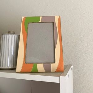Vintage 70s style picture frame
